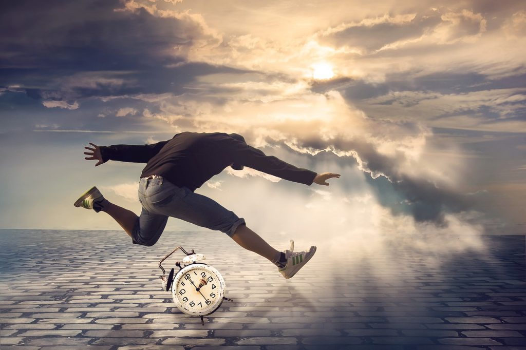 Zeitdruck setzt dich unter Druck